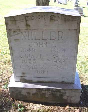 MILLER, ANNA J. - Juniata County, Pennsylvania | ANNA J. MILLER - Pennsylvania Gravestone Photos