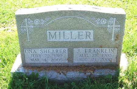 MILLER, J. FRANKLIN - Juniata County, Pennsylvania | J. FRANKLIN MILLER - Pennsylvania Gravestone Photos