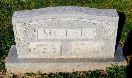 MILLER, JOHN T. - Juniata County, Pennsylvania | JOHN T. MILLER - Pennsylvania Gravestone Photos