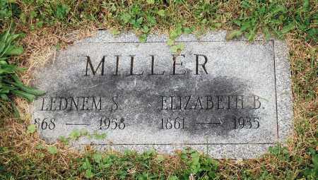 MILLER, LEDNEM S. - Juniata County, Pennsylvania | LEDNEM S. MILLER - Pennsylvania Gravestone Photos
