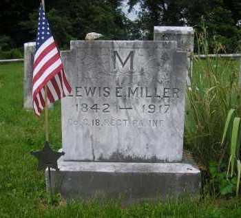 MILLER, LEWIS EVANS - Juniata County, Pennsylvania | LEWIS EVANS MILLER - Pennsylvania Gravestone Photos