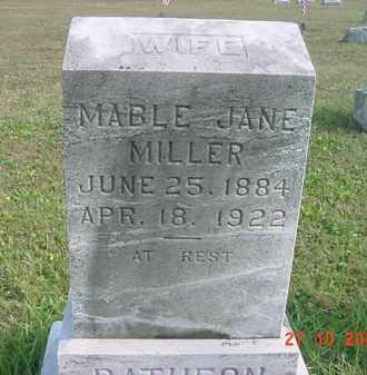 MILLER, MABLE JANE - Juniata County, Pennsylvania | MABLE JANE MILLER - Pennsylvania Gravestone Photos