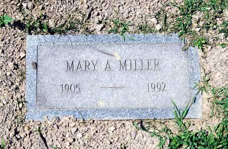 MILLER, MARY A. - Juniata County, Pennsylvania | MARY A. MILLER - Pennsylvania Gravestone Photos