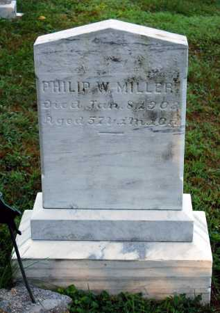 MILLER, PHILIP W. - Juniata County, Pennsylvania | PHILIP W. MILLER - Pennsylvania Gravestone Photos