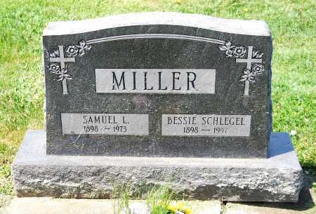 MILLER, SAMUEL L. - Juniata County, Pennsylvania | SAMUEL L. MILLER - Pennsylvania Gravestone Photos