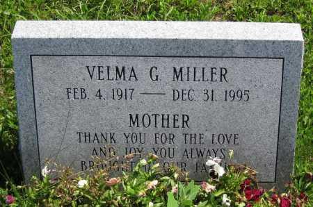 MILLER, VELMA G. - Juniata County, Pennsylvania   VELMA G. MILLER - Pennsylvania Gravestone Photos
