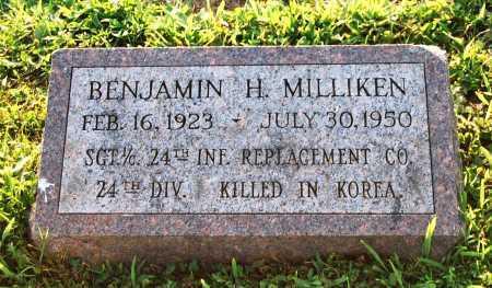 MILLIKEN, BENJAMIN H. - Juniata County, Pennsylvania | BENJAMIN H. MILLIKEN - Pennsylvania Gravestone Photos
