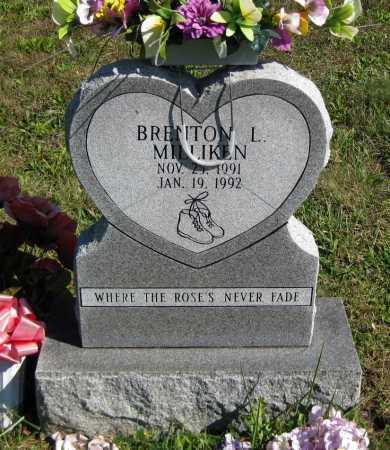 MILLIKEN, BRENTON L. - Juniata County, Pennsylvania | BRENTON L. MILLIKEN - Pennsylvania Gravestone Photos
