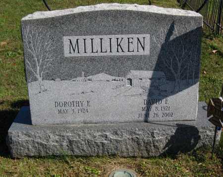 "MILLIKEN, DOROTHY E. ""DOT"" - Juniata County, Pennsylvania | DOROTHY E. ""DOT"" MILLIKEN - Pennsylvania Gravestone Photos"