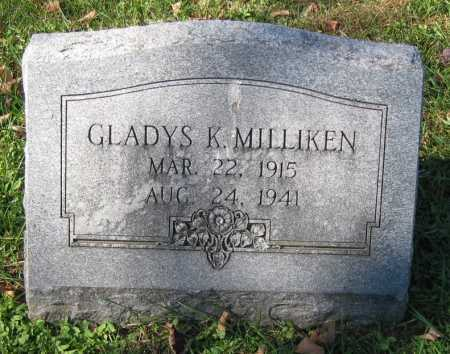 MILLIKEN, GLADYS K. - Juniata County, Pennsylvania | GLADYS K. MILLIKEN - Pennsylvania Gravestone Photos