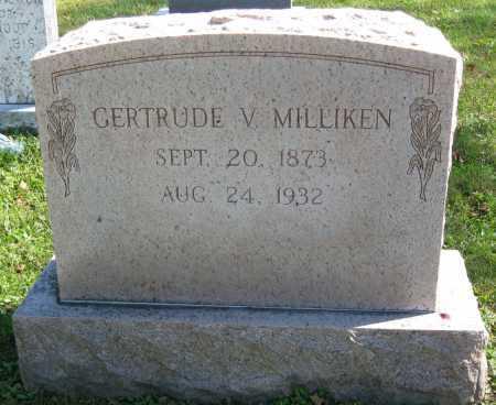 MILLIKEN, GERTRUDE V. - Juniata County, Pennsylvania   GERTRUDE V. MILLIKEN - Pennsylvania Gravestone Photos