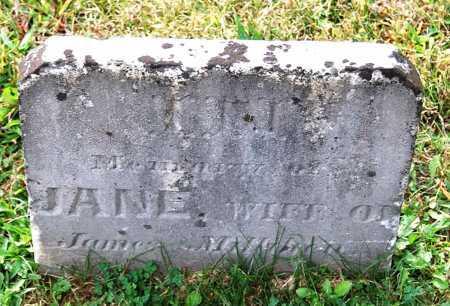 MILLIKEN, JANE - Juniata County, Pennsylvania | JANE MILLIKEN - Pennsylvania Gravestone Photos
