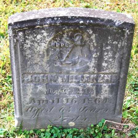 MILLIKEN, JOHN - Juniata County, Pennsylvania | JOHN MILLIKEN - Pennsylvania Gravestone Photos