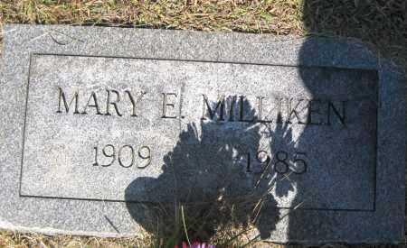 MILLIKEN, MARY ELIZABETH - Juniata County, Pennsylvania   MARY ELIZABETH MILLIKEN - Pennsylvania Gravestone Photos
