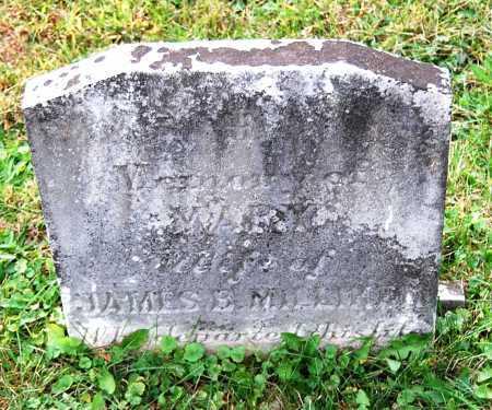 MILLIKEN, MARY - Juniata County, Pennsylvania   MARY MILLIKEN - Pennsylvania Gravestone Photos