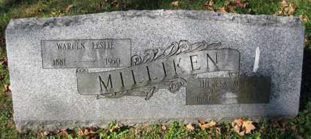 MILLIKEN, WARREN LESLIE - Juniata County, Pennsylvania | WARREN LESLIE MILLIKEN - Pennsylvania Gravestone Photos