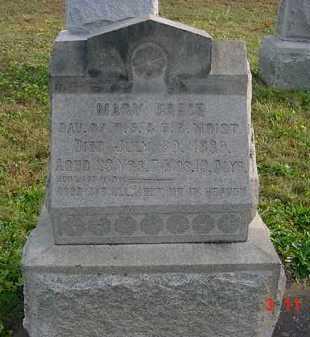 MOIST, MARY GRACE - Juniata County, Pennsylvania   MARY GRACE MOIST - Pennsylvania Gravestone Photos