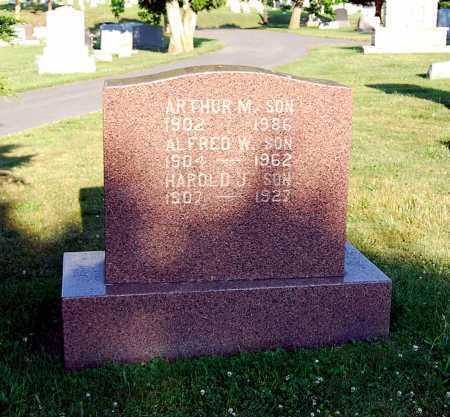 MUSSER, ALFRED W. - Juniata County, Pennsylvania | ALFRED W. MUSSER - Pennsylvania Gravestone Photos