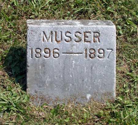 MUSSER, GLADYS - Juniata County, Pennsylvania | GLADYS MUSSER - Pennsylvania Gravestone Photos