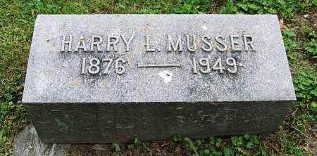 MUSSER, HARRY L. - Juniata County, Pennsylvania   HARRY L. MUSSER - Pennsylvania Gravestone Photos
