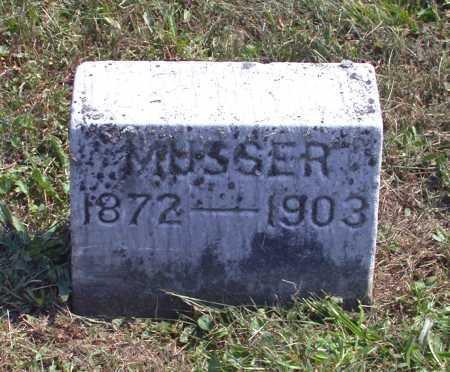 MUSSER, HARRY H. - Juniata County, Pennsylvania | HARRY H. MUSSER - Pennsylvania Gravestone Photos