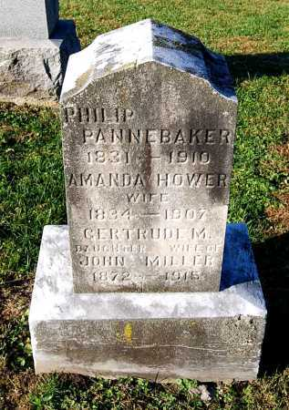 MILLER, GERTRUDE - Juniata County, Pennsylvania | GERTRUDE MILLER - Pennsylvania Gravestone Photos