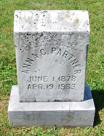 PARTNER, ANNA C. - Juniata County, Pennsylvania   ANNA C. PARTNER - Pennsylvania Gravestone Photos