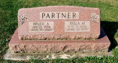 PARTNER, BRUCE A. - Juniata County, Pennsylvania   BRUCE A. PARTNER - Pennsylvania Gravestone Photos