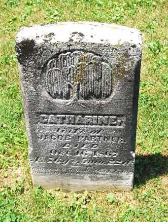 AUGHEY PARTNER, CATHERINE - Juniata County, Pennsylvania   CATHERINE AUGHEY PARTNER - Pennsylvania Gravestone Photos