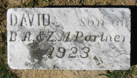 PARTNER, DAVID - Juniata County, Pennsylvania   DAVID PARTNER - Pennsylvania Gravestone Photos