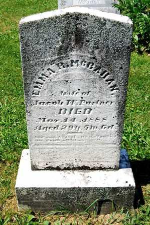 MCCAHAN PARTNER, EMMA R. - Juniata County, Pennsylvania   EMMA R. MCCAHAN PARTNER - Pennsylvania Gravestone Photos