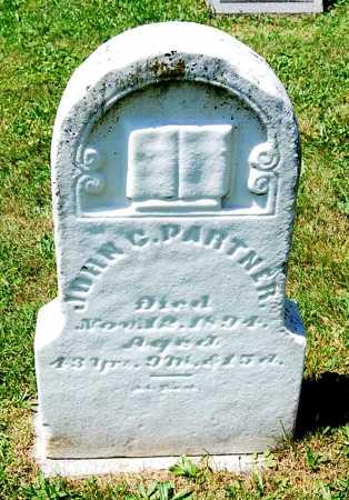 PARTNER, JOHN C. - Juniata County, Pennsylvania | JOHN C. PARTNER - Pennsylvania Gravestone Photos