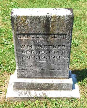 PARTNER, JANE E. - Juniata County, Pennsylvania | JANE E. PARTNER - Pennsylvania Gravestone Photos