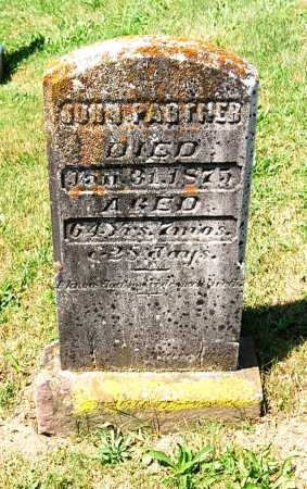 PARTNER, JOHN - Juniata County, Pennsylvania   JOHN PARTNER - Pennsylvania Gravestone Photos