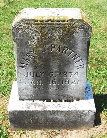 PARTNER, MARY J. - Juniata County, Pennsylvania | MARY J. PARTNER - Pennsylvania Gravestone Photos