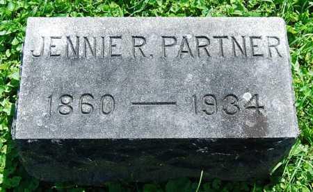 "PARTNER, REBECCA ""JENNIE"" - Juniata County, Pennsylvania | REBECCA ""JENNIE"" PARTNER - Pennsylvania Gravestone Photos"