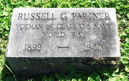PARTNER, RUSSELL G. - Juniata County, Pennsylvania   RUSSELL G. PARTNER - Pennsylvania Gravestone Photos