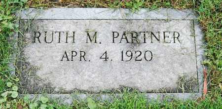 PARTNER, RUTH M. - Juniata County, Pennsylvania   RUTH M. PARTNER - Pennsylvania Gravestone Photos