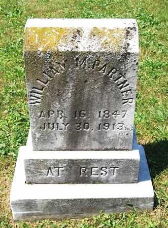 PARTNER, WILLIAM MILLER - Juniata County, Pennsylvania   WILLIAM MILLER PARTNER - Pennsylvania Gravestone Photos