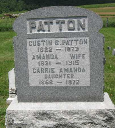 PATTON, AMANDA - Juniata County, Pennsylvania | AMANDA PATTON - Pennsylvania Gravestone Photos