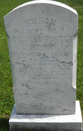 PORTER, SUSAN - Juniata County, Pennsylvania | SUSAN PORTER - Pennsylvania Gravestone Photos
