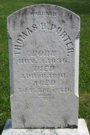 PORTER, THOMAS B. - Juniata County, Pennsylvania   THOMAS B. PORTER - Pennsylvania Gravestone Photos