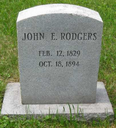 RODGERS, JOHN E. - Juniata County, Pennsylvania | JOHN E. RODGERS - Pennsylvania Gravestone Photos
