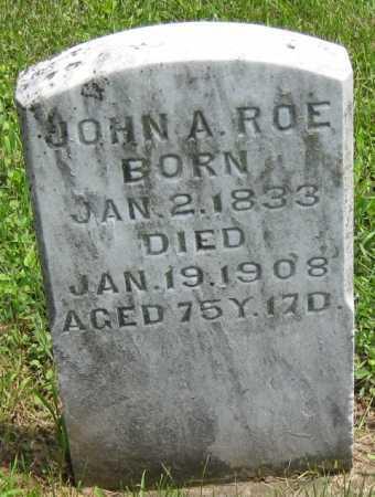 ROE, JOHN A. - Juniata County, Pennsylvania | JOHN A. ROE - Pennsylvania Gravestone Photos