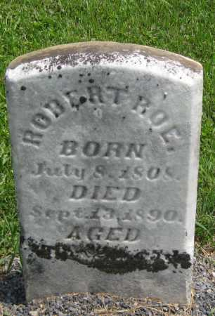 ROE, ROBERT - Juniata County, Pennsylvania   ROBERT ROE - Pennsylvania Gravestone Photos