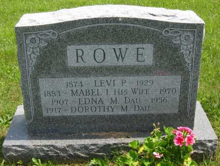 WIRT ROWE, MABEL IRENE - Juniata County, Pennsylvania | MABEL IRENE WIRT ROWE - Pennsylvania Gravestone Photos