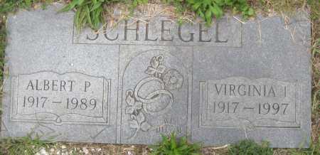 SCHLEGEL, VIRGINIA I. - Juniata County, Pennsylvania | VIRGINIA I. SCHLEGEL - Pennsylvania Gravestone Photos