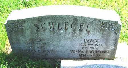 SCHLEGEL, VERNA JANE - Juniata County, Pennsylvania | VERNA JANE SCHLEGEL - Pennsylvania Gravestone Photos