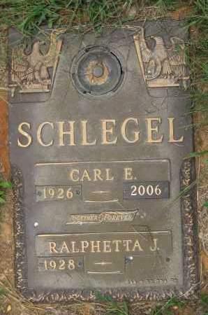 SCHLEGEL, RALPHETTA J. - Juniata County, Pennsylvania | RALPHETTA J. SCHLEGEL - Pennsylvania Gravestone Photos