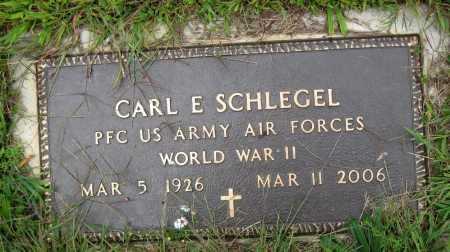 SCHLEGEL, CARL E. - Juniata County, Pennsylvania   CARL E. SCHLEGEL - Pennsylvania Gravestone Photos